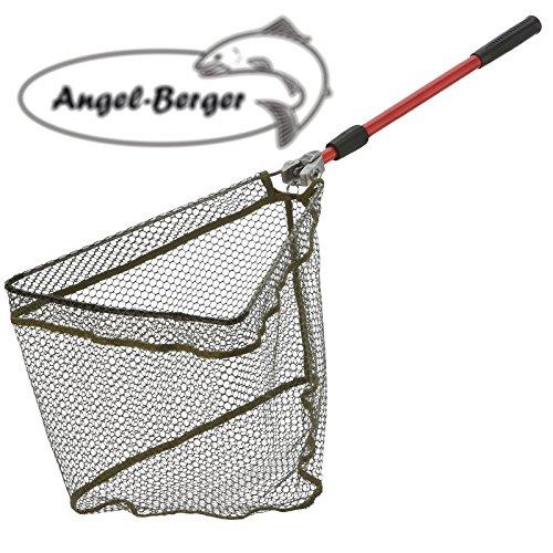 Angel Berger Kescher gummiert Unterfangkescher verschiedene Modelle