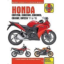 Honda Cbr125r, Cbr250r, Cbr300$, Cb300f & Crf250, '11 to '18