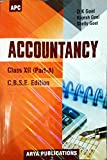 Accountancy Class - XII (Part A - Old Edition)