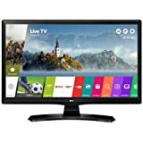 LG 28MT49S-PZ 27.5' HD Smart TV Wi-Fi Black LED TV - LED TVs (69.8 cm (27.5'), HD, 1366 x 768 pixels, LED, 250 cd/m², 8 ms) immagine