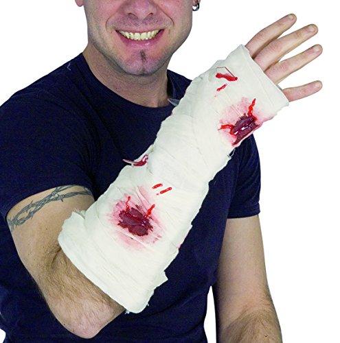 Ciao-envolver brazo con heridas