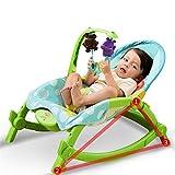 Aszhdfihas Baby Rocker Kleinkind-Rocker, Baby Bouncer Chair und Rocker, geeignet für Neugeborene bis zum Kleinkind Einfach zusammenzufalten