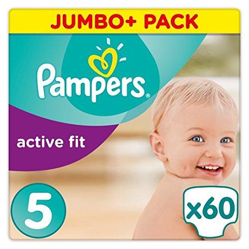 Pampers Active Fit Größe 5Jumbo + Pack 60Windeln