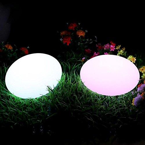 QMMCK Lámpara De Pie Carga Creativa Impermeable El Color Teledirigido 7 Desgasta El Desgaste Resistente...