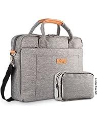 E-Tree 12 zoll laptoptasche Aktentaschen Handtasche Tragetasche Schulter tasche notebooktasche Laptop sleeve laptop hülle für bis zu 12 zoll Laptop Dell Alienware / Macbook / Lenovo / HP
