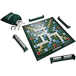 Juegos Mattel - Juego de mesa, Scrabble original Castellano (Y9594)