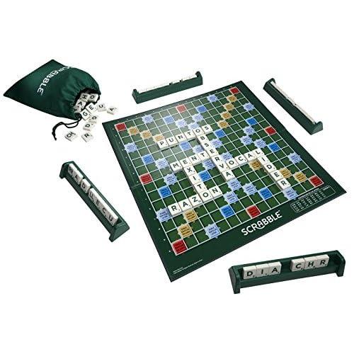Mattel Games Y9594 - Scrabble Original, Juego de mesa para adultos y para niños a partir de 10 años, color/modelo… 4