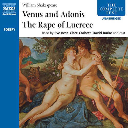 'Venus and Adonis' and 'The Rape of Lucrece'  Audiolibri