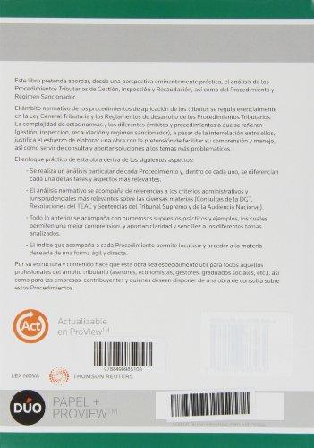 Fiscalidad práctica 2013. Procedimientos tributarios y régimen sancionador (Monografía)