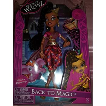 Bratzillaz Back to Magic - Illiana Honesty House of Witchez Doll With Accessories