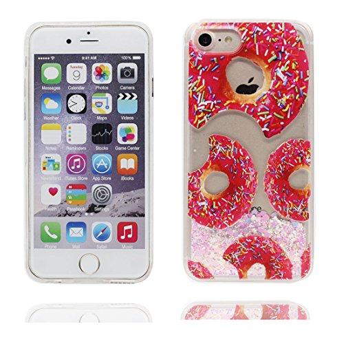 """iPhone 6 Coque, [Bling Glitter Coeur en forme] iPhone 6s étui Cover (4.7""""), Daisies Fluide Liquide Sparkles Sables iPhone 6 Case (4.7""""), Shell anti- chocs (Marguerites) Couleur 4"""