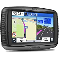 Garmin ZUMO 590LM 5 inch Motorbike Satellite Navigation with UK and Full Europe Maps, Free Lifetime Map Updates and Bluetooth