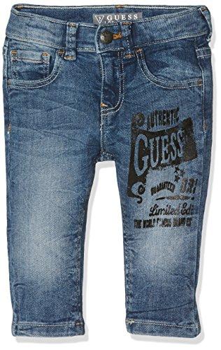 Guess Baby-Jungen Hose I73A01D2E40, Blau (C L E Ver Blue Wash), Neonato (Herstellergröße:/6M) (Guess Baby Jeans)