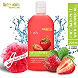 BodyHerbals Lush, Strawberry Shower Gel With Skin Conditioners (200ml) Beauty, Bath & Shower, Soaps & Body Washes, Body Wash Gels