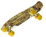 Best Cruising Skateboards - Ridge Unisex's 2015 Print Mini Cruiser Skateboard-Leopard, 22-Inch Review