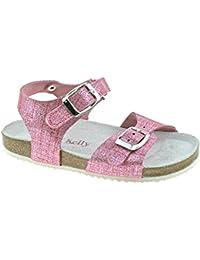 Huhua-Baby Sandal Sandals For Boys, Sandali Bambine Rosa Hot rosa, Blu (blu), 26 EU