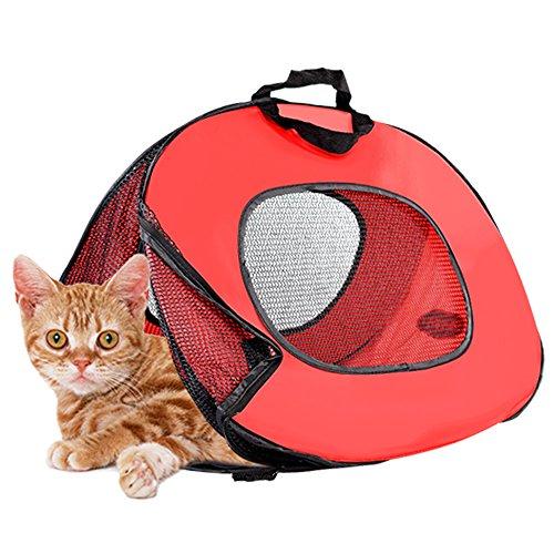 Transportín de gato de tela