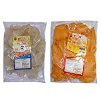 Shahi rice papdi 250gm pack(methi flavour) with Shahi corn papdi 250gm pack