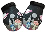 Baby Star G25460 - Manoplas para manillar de silla universal, color negro y rosa