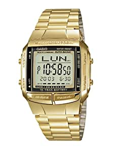 Casio Collection - Montre Homme Digital avec Bracelet en Acier Inoxydable - DB-360GN-9AEF