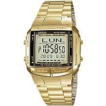 Casio Collection – Reloj Hombre Digital con Correa de Acero Inoxidable – DB-360GN-9AEF