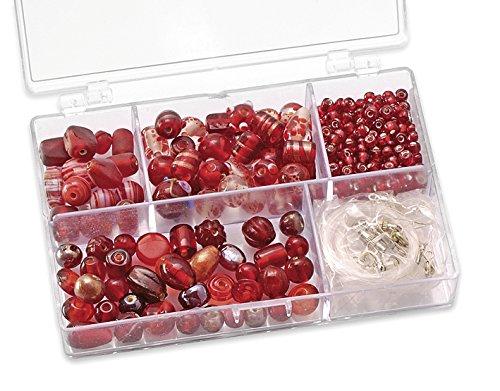 Gütermann / KnorrPrandell 6049150 - Caja con perlas de cristal para b