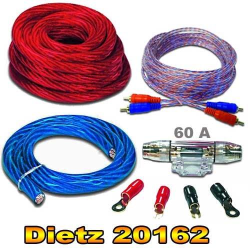 Dietz 20162Set di cavi di fissaggio Set di cavi da 20mm² mmq...