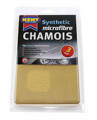 3 Square Foot Genuine Chamois Leather Kent Car Care