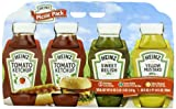 Heinz Picnic Hamburger HotDog Pack (2xKetchup 1xSweet Relish 1xYellow Mustard)