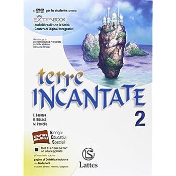 Terre Incantate. Con Letteratura Teatro. Per La Scuola Media. Con Dvd. Con E-Book. Con Espansione Online: 2