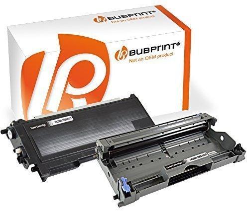 Bubprint Toner & Trommel kompatibel für Brother TN-2000 DR-2000 für DCP-7010 DCP-7020 Fax 2820 2920 HL-2030 HL-2032 HL-2040 HL-2070N MFC-7420 MFC-7820 (Brother Dcp-7020 Toner Patrone)