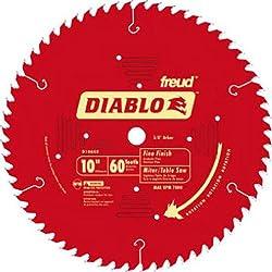 "Freud D1060x X 60-tooth Fine Finish Saw Blade, 10"""