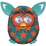 Furby Boom Orange Stars by Hasbro (English Manual) [habla inglés, no compatible con app española]
