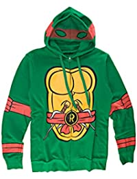 Teenage Mutant Ninja Turtles I Am Raphael Herren Zip-Up Kostüm Kapuzenpullover