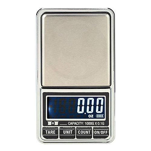 Báscula usb recargable/Batería digital joyeria/cocina/alimentos