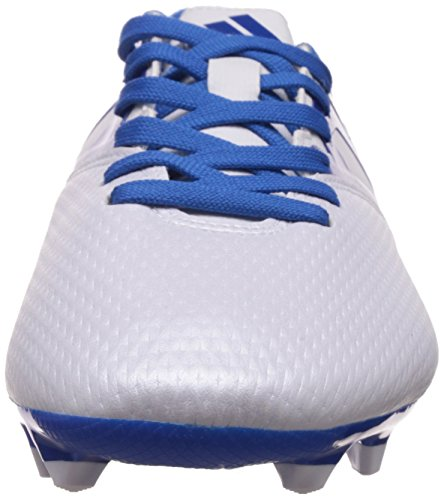 adidas Messi 15.3 Firm Artificial Ground, Chaussures de football homme Blanc - Weiß (Ftwr White/Prime Blue S12/Core Black)