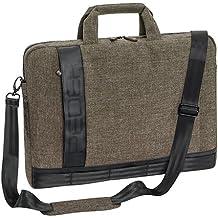 """'Pedea–Funda """"Fancy para ordenador portatil 17,3pulgadas (43,9cm) con compartimento para accesorios y correa, color beige"""