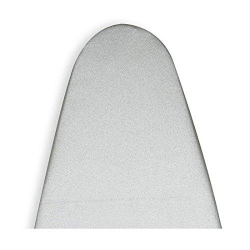 Encasa Homes Bügelbrettbezug 'Silver Super Luxury' mit Schaumstoffpolster + Fiber Pad (passend für Board der Länge 123cm - 127cm & B 43cm - 47cm)
