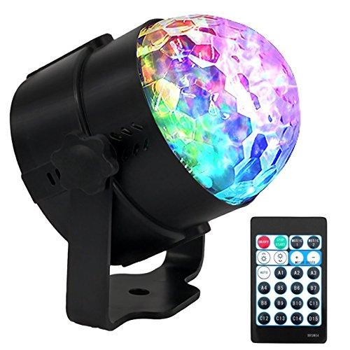 LED Partylicht, Eyourlife Discokugel 15 Farben RGBW Lichterkette Beleuchtung Lampe mit Fernbedienung für Partybar Club Party Hochzeit Konzert Geburtstage
