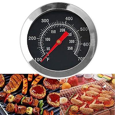 Tinaa ThermometerBarbecue ThermometerGartenEdelstahl für alle Grills, Smoker,Grillzubehör(50 ? bis 350 ?)
