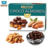 #3: BOGATCHI Chocolate Coated Almonds, Rich Dark Chocolate Coated Dry Fruits, 100 grams