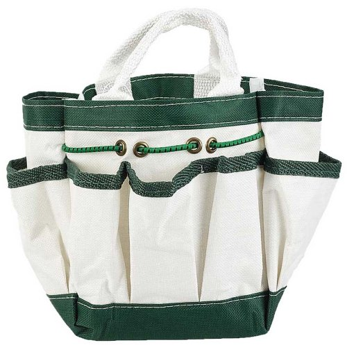 n Tote With 7 Pockets White 9