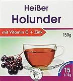Pharma-Peter HEISSER Holunder + Vitamin C + Zink 15 Portionsbeutel á 10 g