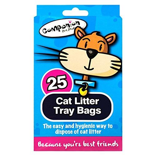 Stalwart Q-64035 bac à litière pour chat Sacs (lot de 25)