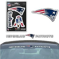 Nfl New England Patriots Exterior Auto Kit