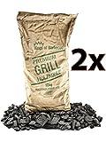 Kings of Barbecue Premium Quebracho Holzkohle Grillkohle 15Kg