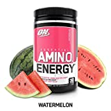 Optimum Nutrition Essentieller Amino Energy Drink, Wassermelone, 280ml, 30 Rationen