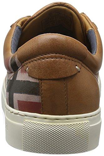 Napapijri Bever, Baskets Basses Homme Marron - Braun (cognac N45)