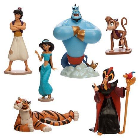 Disney Store Aladdin Figure Play Set by Disney (Disney Aladdin Blu-ray)