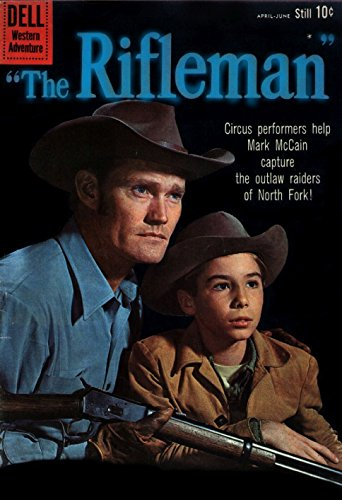 1960 The Rifleman Comic Book #3: Circus Peformers help Mark McCain capture the outlaw raiders of North Fork! (English Edition)
